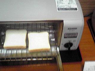 食パンはトースターで焼けます