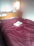 寝心地のいいベッドです