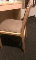 デスクの椅子です