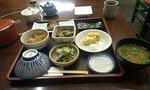 和食の朝食です