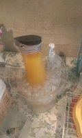 オレンジジュースもあります