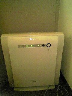 空気清浄器ついてます
