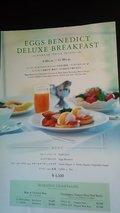 すごくリッチな朝食の案内もあります
