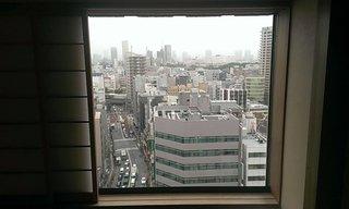 部屋のまどからの眺めです