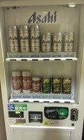 ロビー近くにアルコールの自販機あります