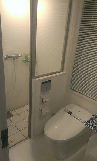 バスルーム全景です