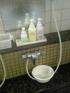 大浴場の洗い場です