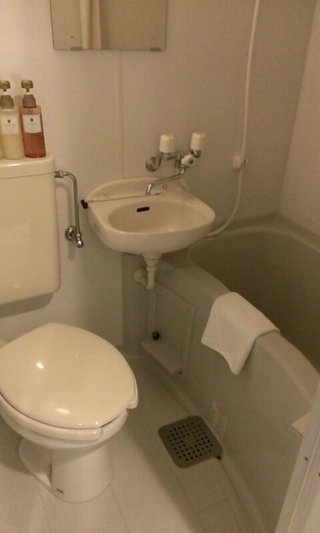 バスルームの全景です