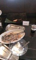 焼き魚と大根おろしです