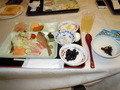 和洋揃った朝食
