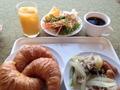 無料の朝食