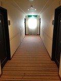 ホテル棟客室フロア廊下