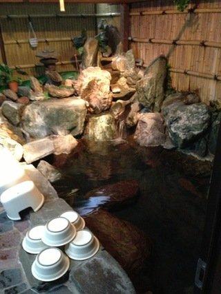 ホテル内温泉