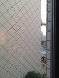 部屋の窓からの眺め