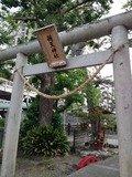 ホテル横の弁天神社