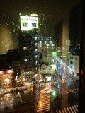ホテル廊下からの眺め