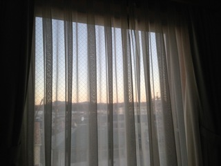 シングルルーム窓