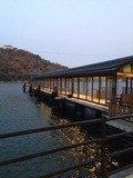 湖畔の桟橋