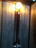 檜の露天風呂シャワーコーナー