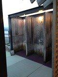 畳の露天風呂シャワーブース