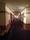 レストランフロア廊下