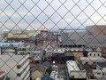 8階レストランからの港の眺め