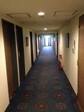 客席フロア廊下