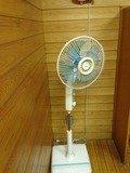 研修宿泊者用浴室扇風機