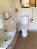 身障者用のトイレ