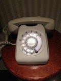 エレベーターホールの内線電話