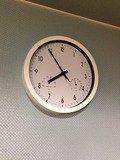 大浴場壁掛け時計