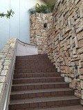 ホテル外階段