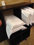 フロント横の選べる枕サービス