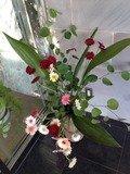 ロビーの生花