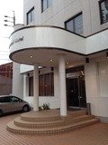 ホテル玄関