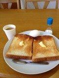 朝食バイキングはトースト