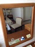 デスクの鏡
