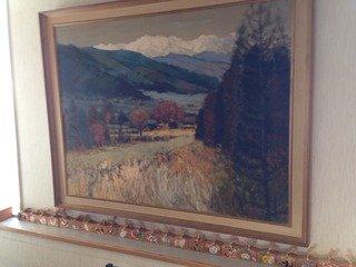 食堂の絵画