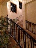 スパ棟階段