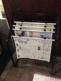 新聞ラック
