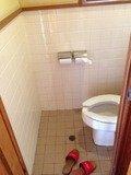 野天風呂トイレ