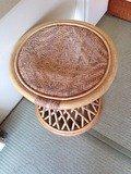 野天風呂丸椅子
