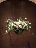 レジデンス棟の空中花壇