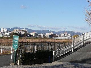 ホテルより高尾山方面の眺め