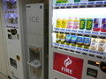自販機と製氷機