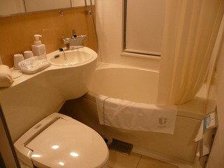 シングルルームA バスルーム