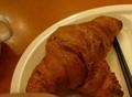 無料朝食のパン