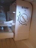 冷蔵庫のスイッチ