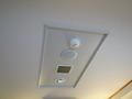 天井の火災感知器