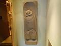 部屋の玄関にある木彫り